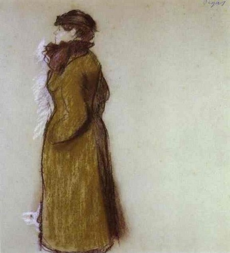 Lady in Town Clothes - Edagr Degas