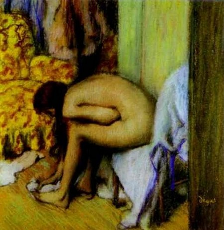 Nude Wiping Her Foot - Edgar Degas